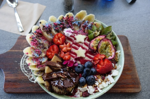 PBJ Smoothie bowl from Cardamom Pod at Brickworks