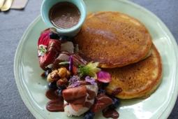 Nutella pancakes from Cardamom Pod Brickworks
