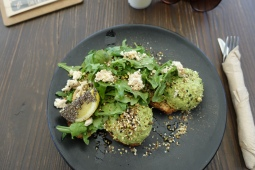 Smashed avo on toast from Blendlove