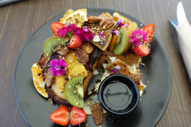 Vegan French toast at Blendlove